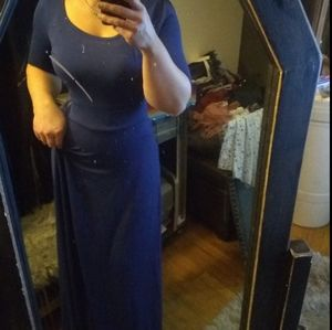 Lularoe Navy maxi dress 👗